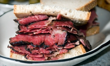 Deli Food for Lunch or Dinner or Catering Services at Yitz's Deli & Catering (Up to 52% Off)