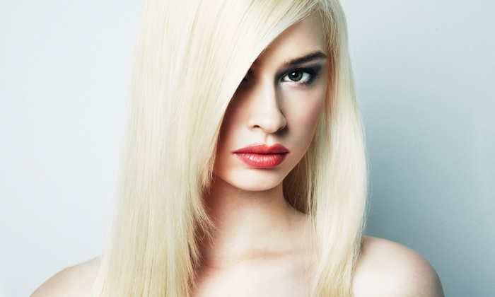 Moda Salon - Woodfield Country Club: One or Two Keratin Hair-Smoothing Treatments with Blow-Dries at Moda Salon (Half Off)