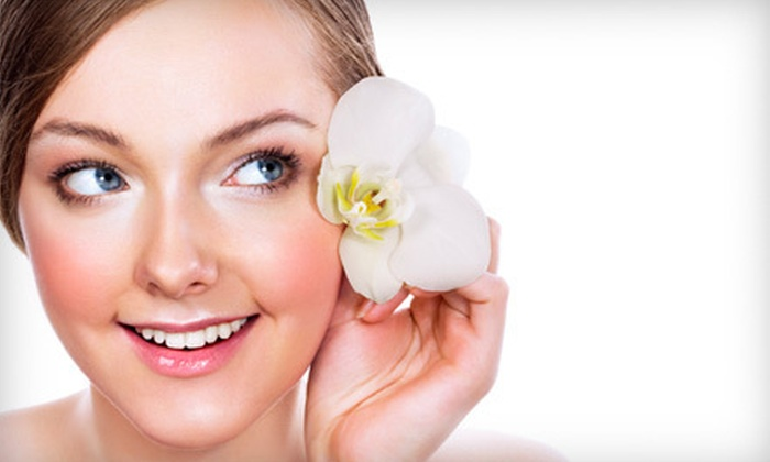 Hey Beautiful Salon and Day Spa - Northwest District: $50 for an Anti-Aging-Facial Package with LED-Light Therapy and Massage at Hey Beautiful Salon and Day Spa ($205 Value)