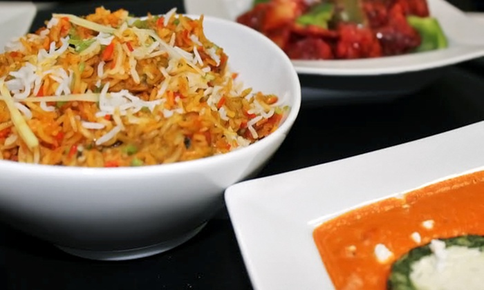 India Garden Fine Dining Restaurant - Bel Air: $16 for $30 Worth of Indian Dinner Cuisine for Two at India Garden Fine Dining Restaurant