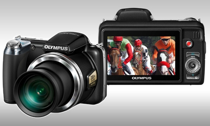Olympus 14MP Digital Camera with 36x Zoom (SP-810UZ): Olympus 14MP Wide-Angle SP-810UZ Digital Camera with Optional 2-Year Protection Plan by N.E.W. Free Shipping & Returns.