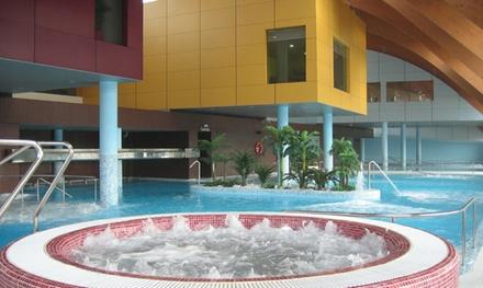 Acceso a spa p/2 opción buffet y masaje en Thalasia Costa de Murcia Hotel y Spa marino(hasta 44% de descuento)