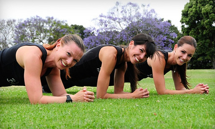 Bootique Fitness - Multiple Locations: 5 or 10 Women's Boot-Camp Classes at Bootique Fitness (Up to 78% Off)