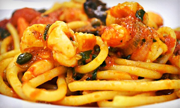 Al Di La - East Rutherford: $29 for One Appetizer and Two Entrees for Dinner at Al Di La (Up to $58 Value)