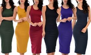 Lyss Loo Body-Con Midi Dress