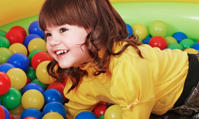 Jump2It - Central City: Six-Visit Bouncing Punch Card for a Toddler or Child at Jump2It (50% Off)