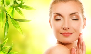 World Of Health: Organic Facial for One or Two with Champagne and Strawberries at World of Health (Up to 46% Off)