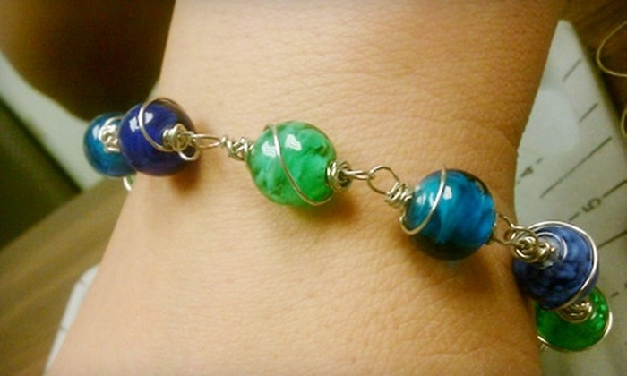 The Colorado Bead Company - City Park West: Jewelry-Making Class for One or Bead Party for Six at The Colorado Bead Company (Up to 58% Off)
