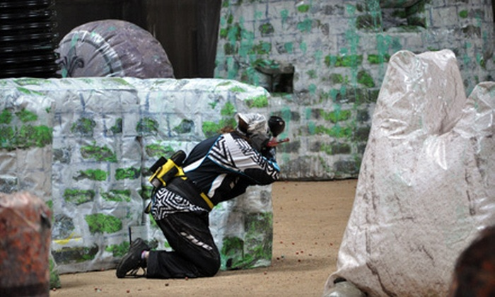 Westworld Paintball Adventures - Xtreme Pursuit Indoor Arena - Phoenix: Paintball Package for One or Two at Westworld Paintball Adventures (Up to 52% Off)