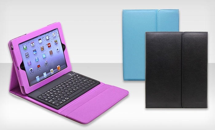 Aduro Liqua-Shield iPad Folio Case with Bluetooth Keyboard: Aduro Liqua-Shield iPad Folio Case with Bluetooth Keyboard for iPad 2, 3 and 4. Multiple Colors Available. Free Returns.