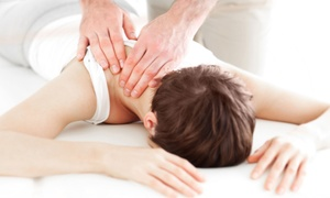 Golinsky Specific Chiropractic: Chiropractic Consultation with One or Two Adjustments and Massages at Golinsky Specific Chiropractic (Up to 88% Off)
