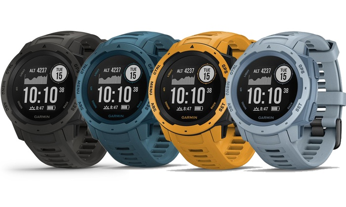 Up To 13% Off on Garmin Instinct Rugged Watch | Groupon Goods
