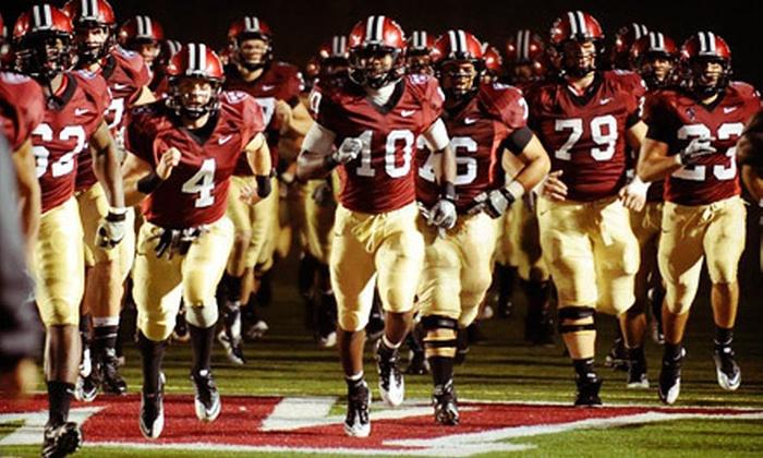 Harvard Crimson Football - North Allston: $20 for a Harvard Football Game for Two Against San Diego or Cornell at Harvard Stadium ($40 Value)