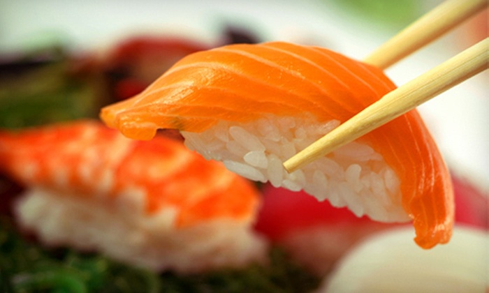 Bluetail Sushi and Bistro - Highway 97: Sushi Dinner for Two or Four at Bluetail Sushi and Bistro (Up to 58% Off)