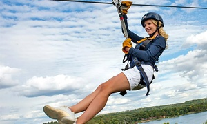 2-hour Wisconsin Dells Zipline Tour At Bigfoot Zipline Tours (up To 28% Off). Open Year Round.