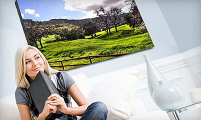 Gallery Art: Custom Gallery-Wrapped Canvas Prints from Gallery Art (Up to 93% Off). Three Sizes Available.