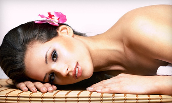 Allure De Vie Salon & Day Spa - Norwood Park: $99 for a Spa Package with Massage, Facial, and Express Pedicure for One or Two at Allure De Vie Salon & Day Spa ($290 Value)
