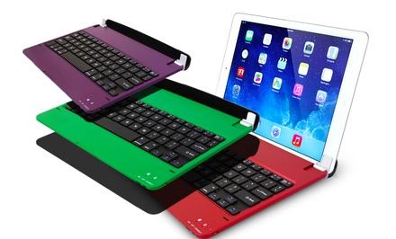 Ultra Thin Bluetooth Keyboard Case for iPad 2/3/4, Air, or Mini