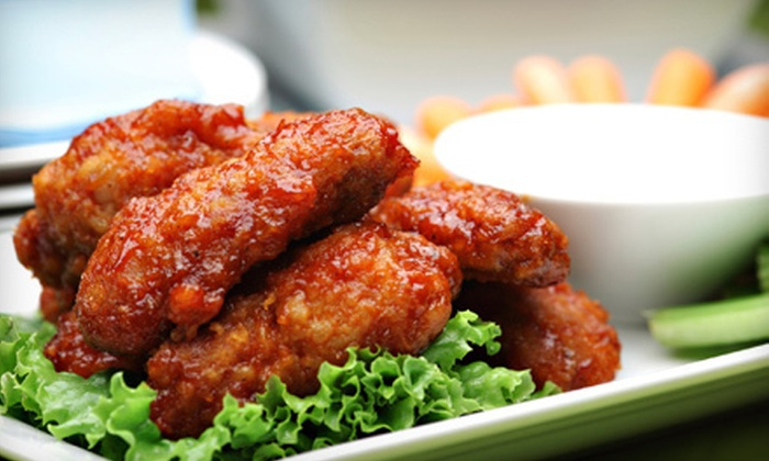 The Bridge Tavern - Kingsbridge: $19 for 25 Wings and a Bucket of Beer at The Bridge Tavern ($40 Value)