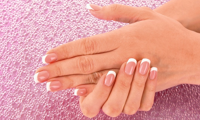 Glow Beauty - Hazel Crest: No-Chip Gel, Regular, or Extended-Wear Manicures at Glow Beauty (Up to 56% Off)