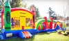 Up to $255 Toward a Bounce-House Rental