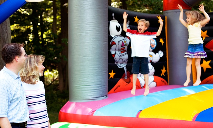 Chariot Photo Booths - Chariot: Moon-Bounce Rentals from Chariot Photo Booths (Up to $480 Off). Three Options Available.