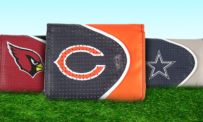 NFL Perforated Wallets: NFL Perforated Wallet. Multiple Teams Available. Free Returns.
