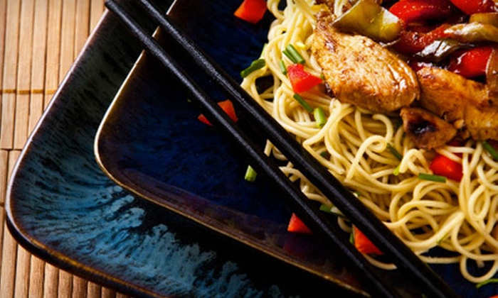 Bistro D'Asia - South Side: $29 for a Three-Course Asian-Fusion Dinner for Two at Bistro D'Asia (Up to $61 Value)