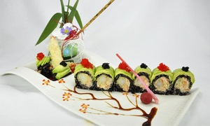 Sumo Sushi Steak House: $12 for $20 or $20 for $40 Worth of Sushi, Teppanyaki, and Drinks at Sumo Sushi House