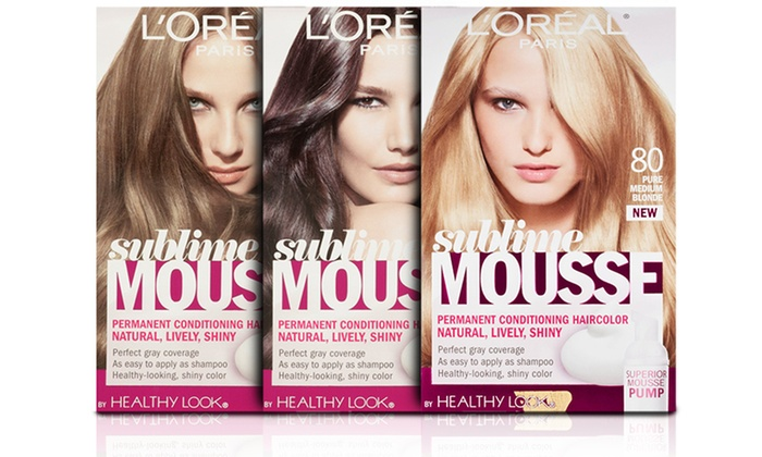 L Oréal Paris Sublime Mousse Conditioning Haircolor