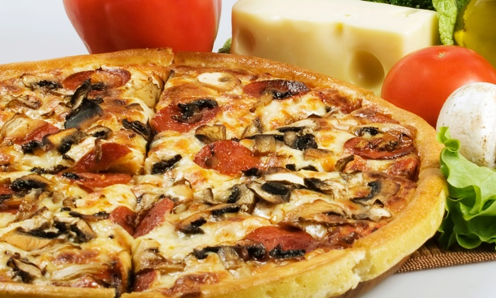 Casamel's Pizza - Parma: $15.99 for Two 16-Inch Two-Topping Pizzas at Casamel's Pizza (Up to a $32.40 Value)