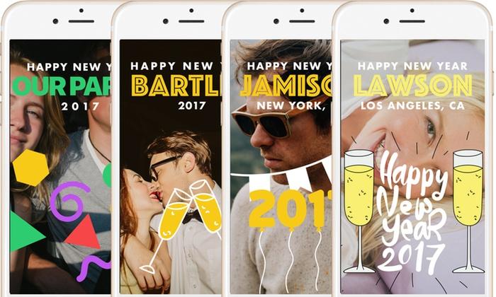 Snapchat filter promo code