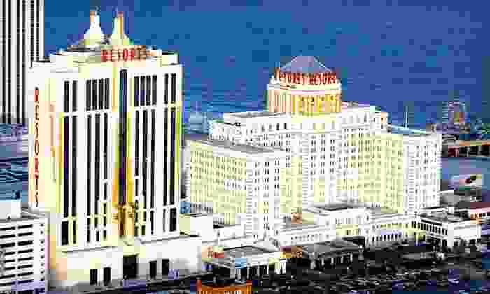 Resorts Casino Hotel - Atlantic City, NJ: One- or Two-Night Stay with Show Tickets and Spa Admission at Resorts Casino Hotel in Atlantic City, NJ