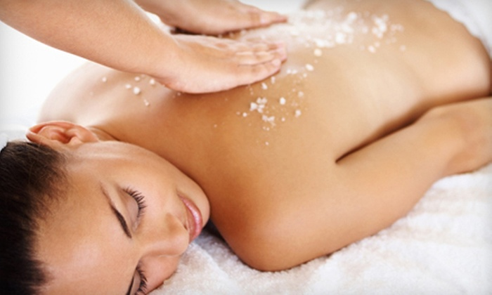 MONA LISA ECO SPA'LON - Mayfield Heights: One or Two 60-Minute Glow Sugar Body Scrubs at Mona Lisa Salon & Spa (Up to 57% Off)