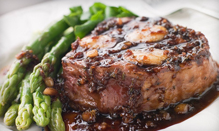 L'Allegria Restaurant - Clinton: Steak Dinner for Two or Four at L'Allegria Restaurant (Up to 57% Off)