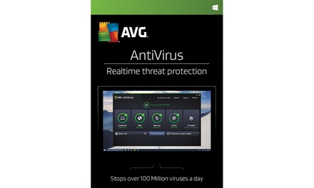AVG 2019 Three-PC Antivirus or Internet Security License