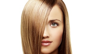 Le Freak c'est Chic: Haircut with Optional Hair Treatment, Highlights, Colouration or Ombre at Le Freak C'est Chic (Up to 68% Off)
