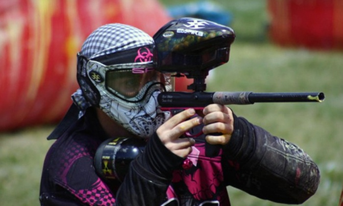Bragg Creek Paintball - Bragg Creek: Paintball Package with Rental Gear and Unlimited Air for Two, Four, or Six at Bragg Creek Paintball (Up to 73% Off)