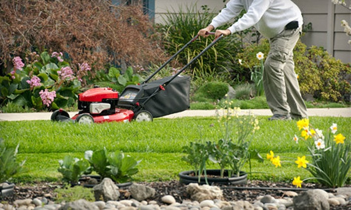 Egypt Creek Lawn Care & Maintenance - Grand Rapids: Four Weeks of Lawn-Mowing Services with Optional Yard Cleanup from Egypt Creek Lawn Care & Maintenance (51% Off)