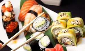 Noori: 5-Gänge-Menü für Zwei oder Vier inkl. Misosuppe, Sushi, Sesam- oder Grüntee-Eis im Noori ab 34,90 € (bis zu 57% sparen*)