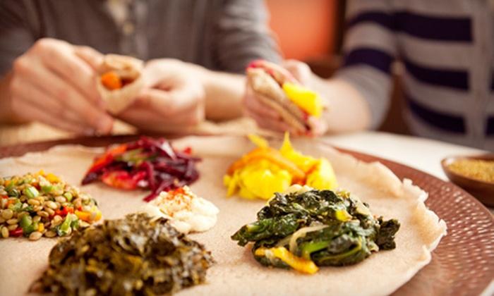 Meskerem Ethiopian Restaurant - Adams Morgan: $15 for $30 Worth of Ethiopian Cuisine at Meskerem Ethiopian Restaurant