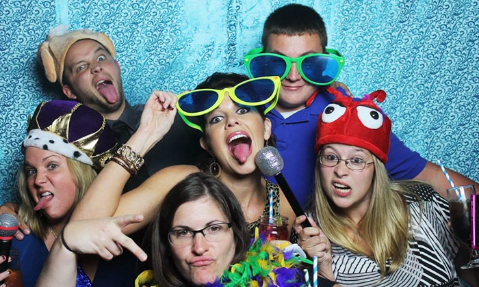 The iLOVE Team - Wilmington-Newark: Three- or Four-Hour Photo Booth Rental from The iLOVE Team (50% Off)