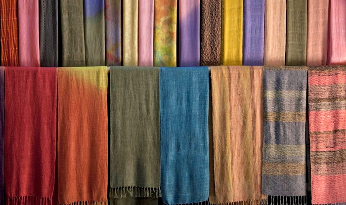 DIY Cotton Scarf-Dyeing Class - For Art's Sake: Tie-Dye Your Own Cotton Scarf