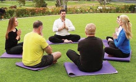 $198 for a Meditation Weekend September 20–21 at The Chopra Center ($395 Value)