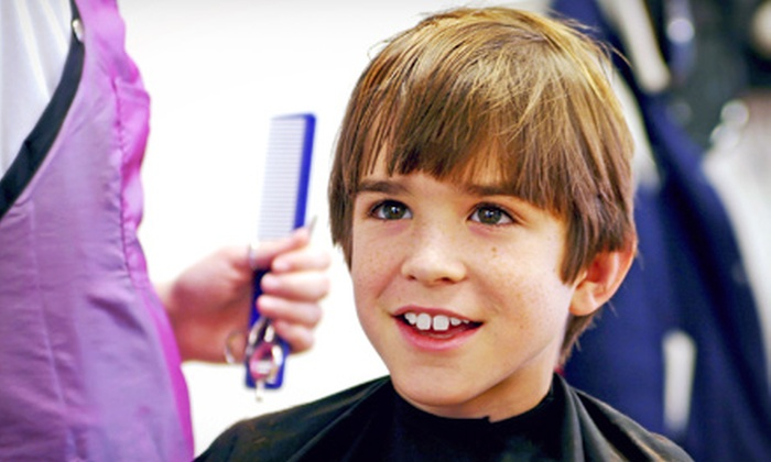 Snips & Clips 4 Kids - Spring Valley: One or Three Children's Haircuts at Snips & Clips 4 Kids (53% Off)