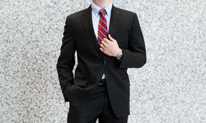 Luxury Plus: Three Custom Tailored Shirts or a Full Custom Wool Suit at Luxury Plus (Up to 63% Off)