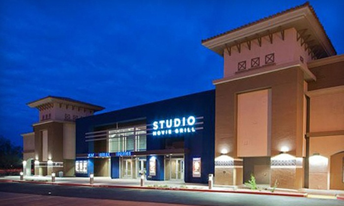 Studio Movie Grill Scottsdale; Studio Movie Grill, North Scottsdale; Get Menu, Reviews, Contact, Location, Phone Number, Maps and more for Studio Movie Grill Restaurant on Zomato. Serves American, Burger, Pizza. Products for Businesses We're hiring. Scottsdale. Please type a location.