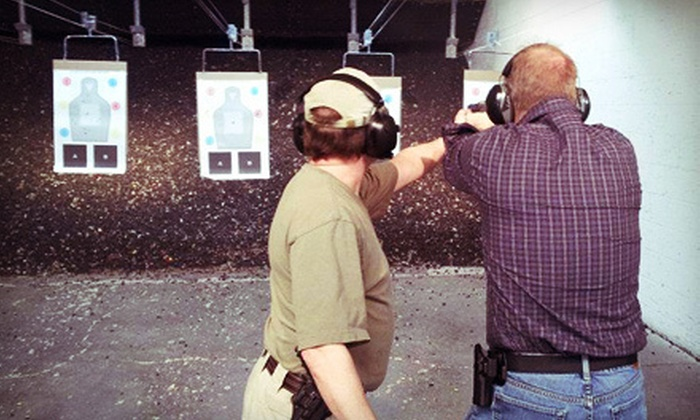 Blue Line Defense - Multiple Locations: $79 for a Introductory Defensive Handgun Course at Blue Line Defense ($180 Value)