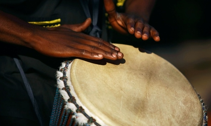 West African Dance Class - Farafina Kan: Learn a West African Dance with a Live Djembe Orchestra
