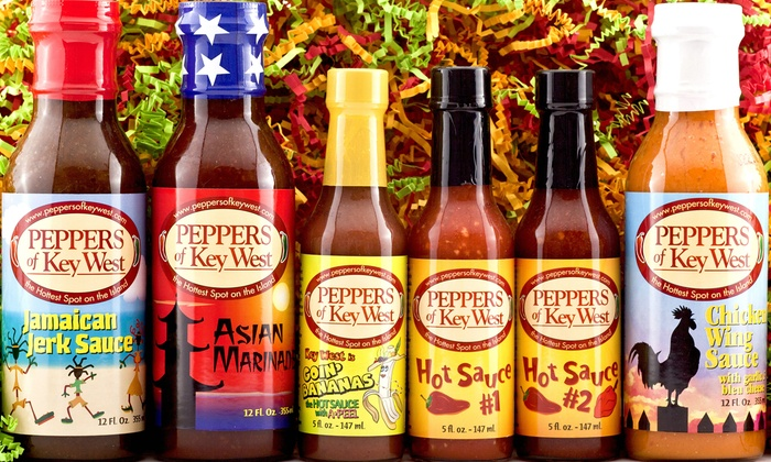 Peppers of Key West - Multiple Locations: $18 for $25 Towards Hot Sauce at Peppers of Key West